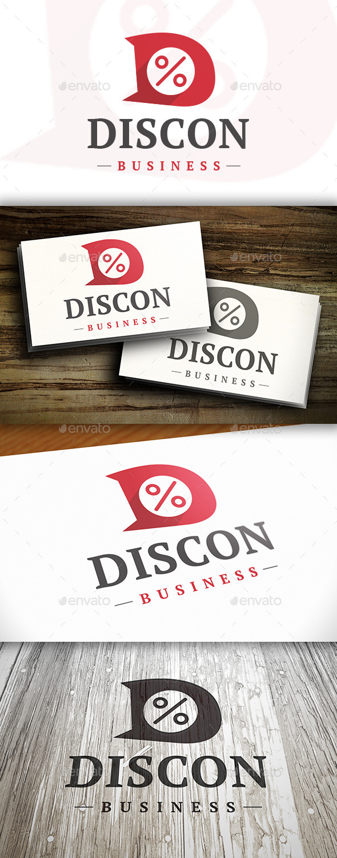 GraphicRiver Discount D Letter Logo 10305299