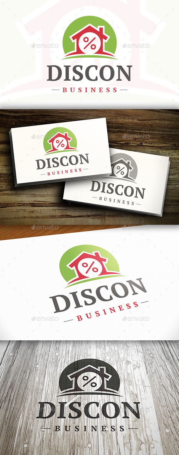 GraphicRiver Discount House Logo 10305596