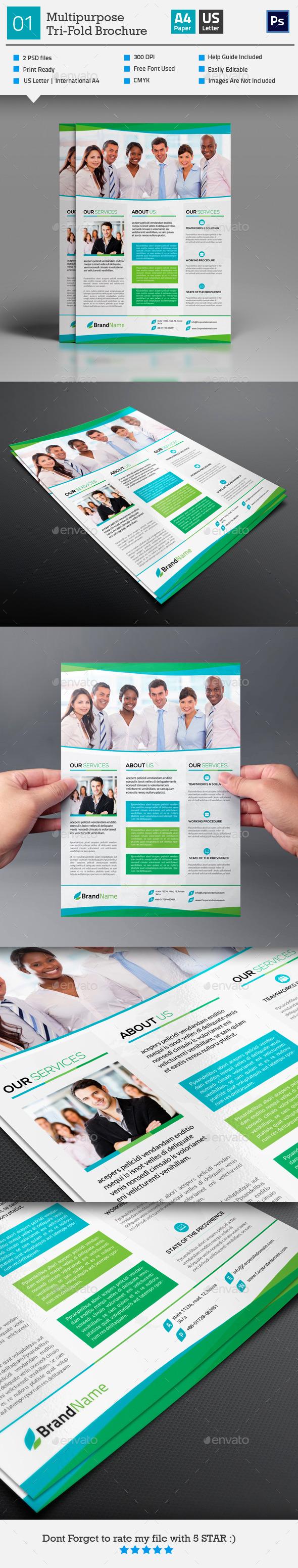 GraphicRiver Multipurpose Flyer Template 01 10305724