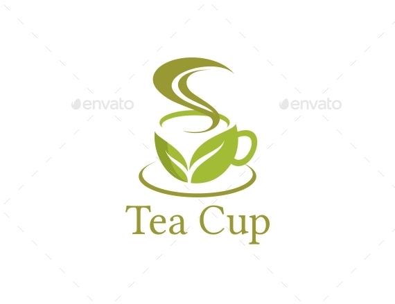 tea cup logo template by matadewa graphicriver