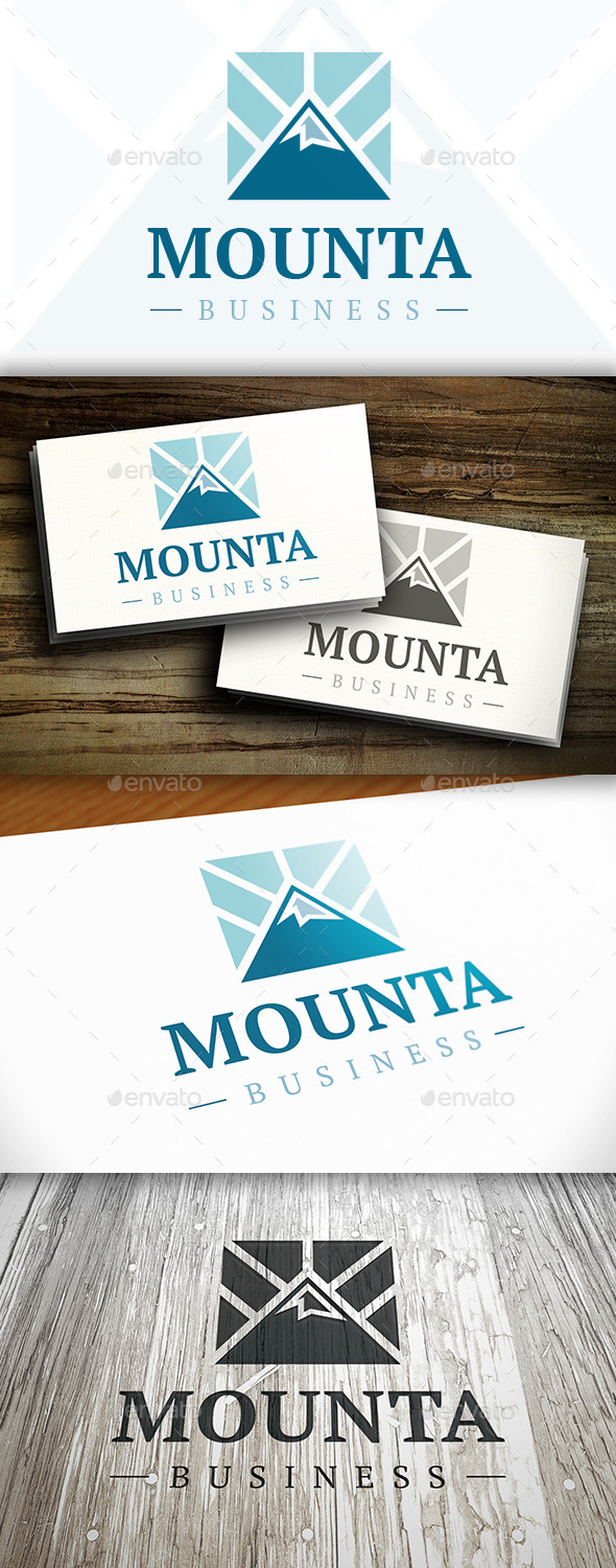 GraphicRiver Mountain Logo 10306216