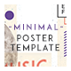Minimal Poster Template - GraphicRiver Item for Sale