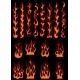 Various Fiery Flames in Tribal Style - GraphicRiver Item for Sale