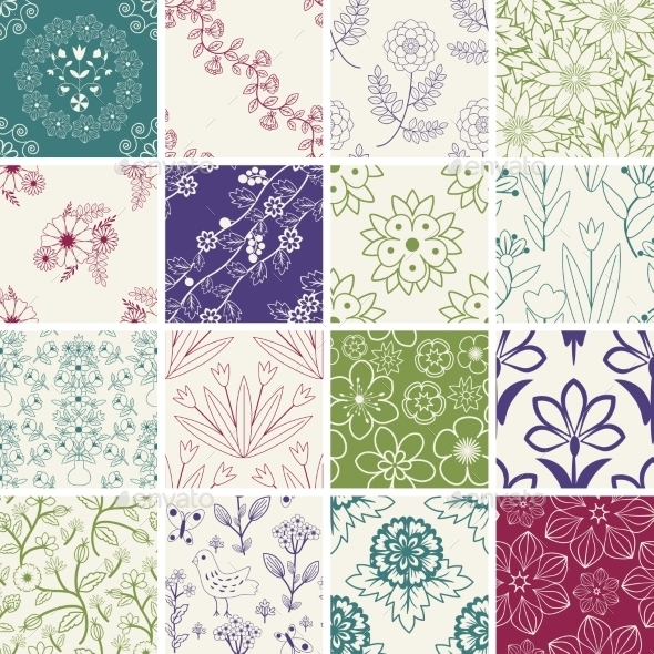 GraphicRiver Seamless Patterns 10307116