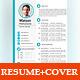 CV / Resume + Cover Letter - InDesign - GraphicRiver Item for Sale