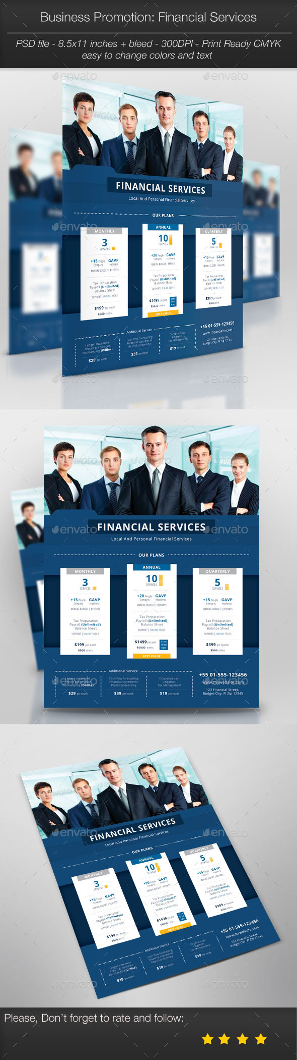 GraphicRiver Business Promotion Financial Services 10307352