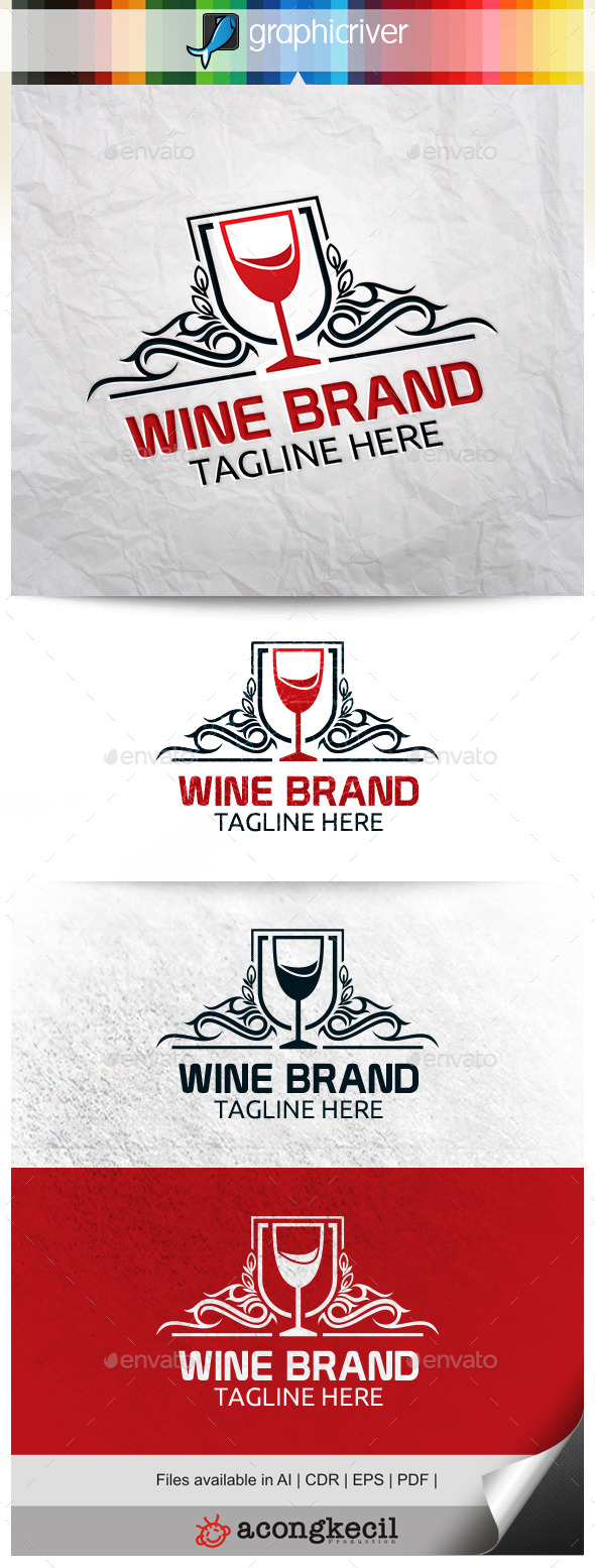 GraphicRiver Wine Brand 10307616