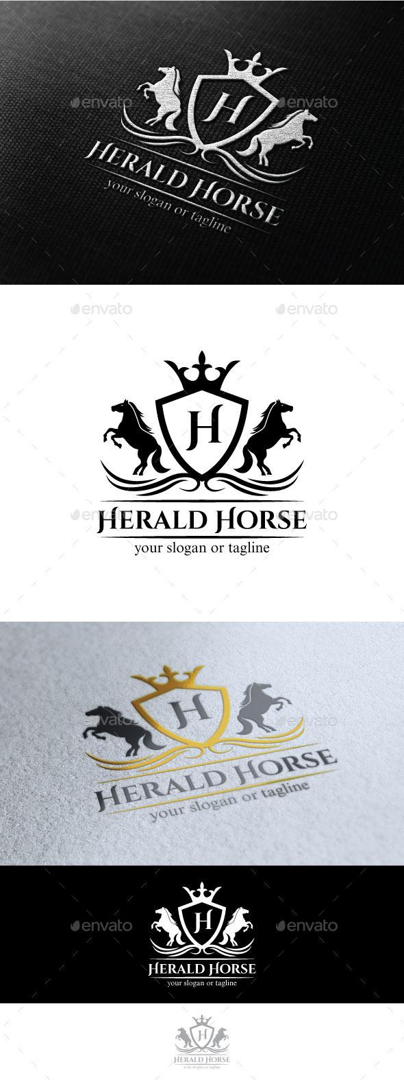GraphicRiver Horse Herald 10308085