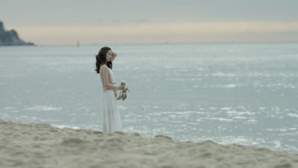 Girl In The Beach 02