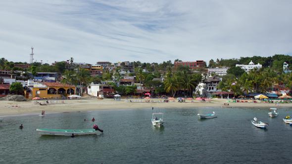 Puerto Escondido Bay Mexico 6
