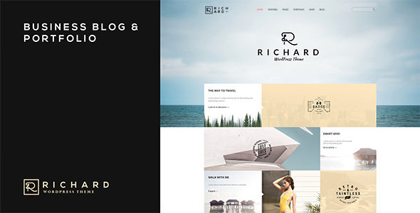 Richard Theme Blog Portfolio & Business