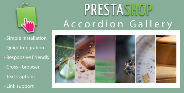 CodeCanyon Responsive Accordion Slideshow for Prestashop 10309176