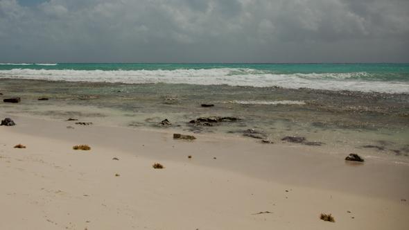 Paradise Beach Playa Del Carmen Caribbean Mexico