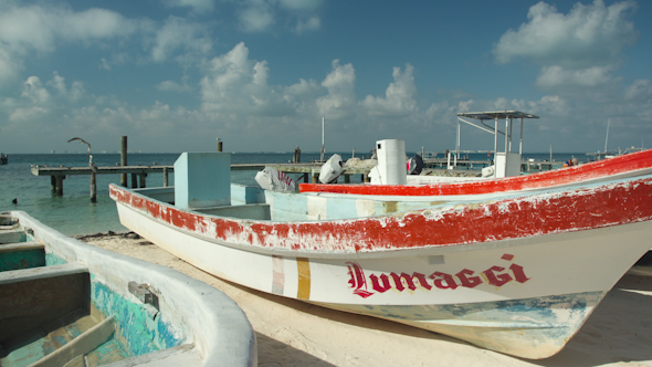 Picturesque Caribbean Boats 1