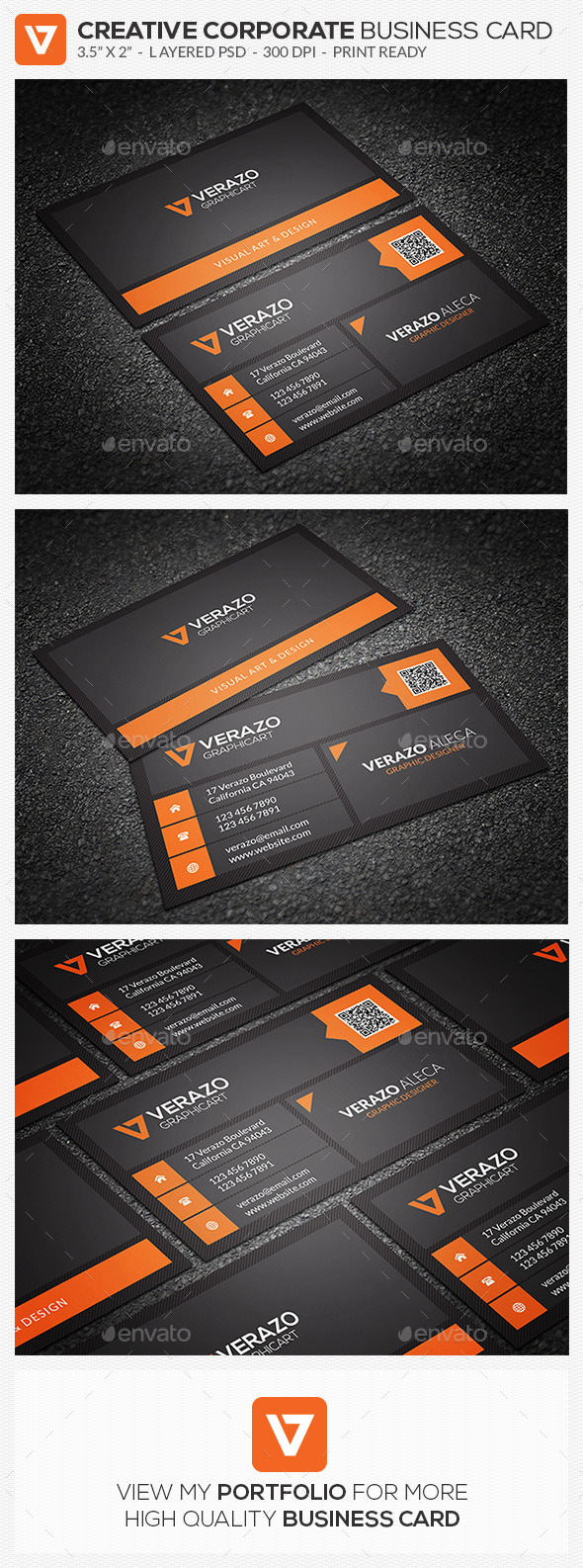 GraphicRiver Creative Metro Style Business Card 74 10309686