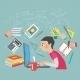 Mathematics Student Concept - GraphicRiver Item for Sale