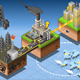 Isometric Infographic Petroleum Energy Harvesting - GraphicRiver Item for Sale