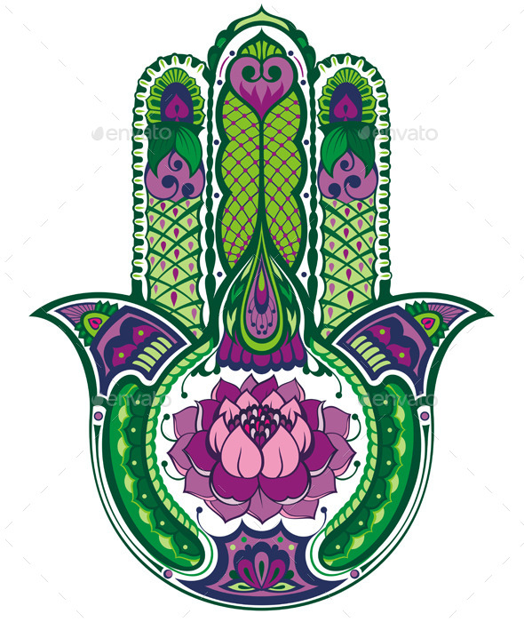 GraphicRiver Hamsa Hand 10310347