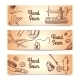Sewing Banners Set - GraphicRiver Item for Sale