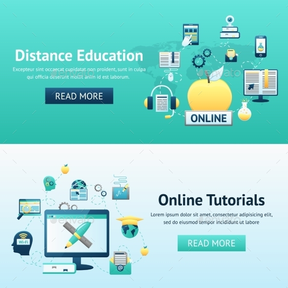 GraphicRiver Online Education Design Concept 10310411