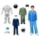 Astronaut Boy Set - GraphicRiver Item for Sale