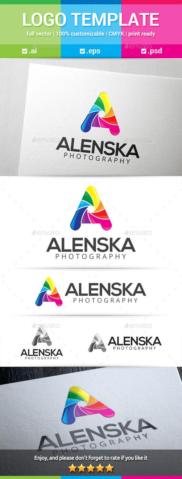 GraphicRiver Alenska Letter A Logo 10310817