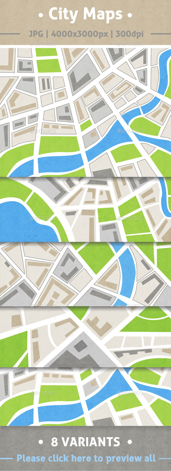 GraphicRiver City maps 10310876