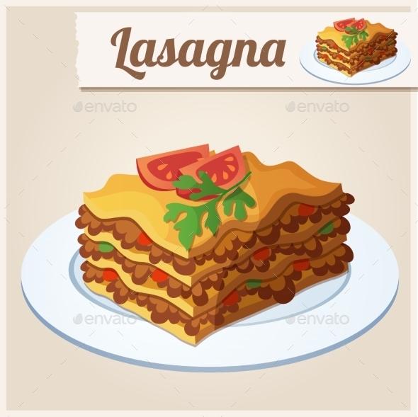 GraphicRiver Lasagna 10310971