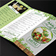 Healthy Food Menu Trifold - GraphicRiver Item for Sale