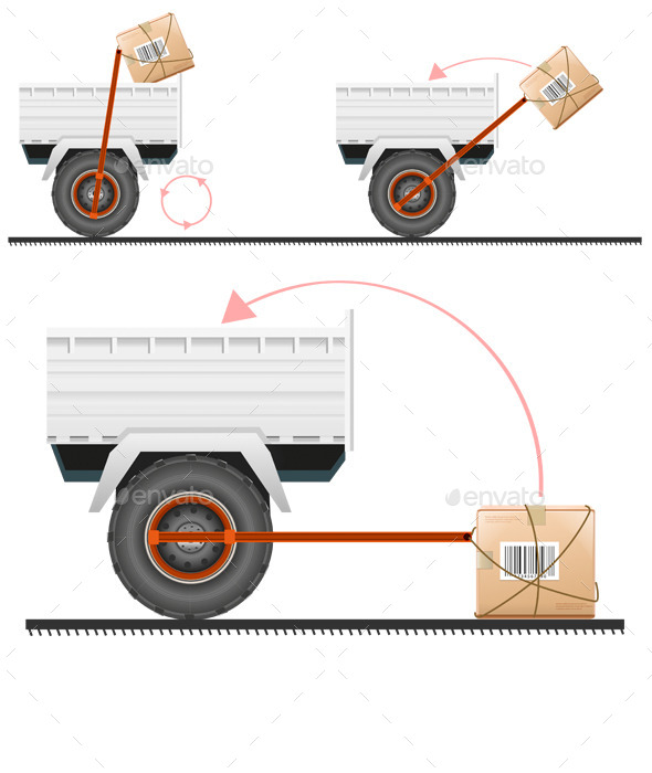 GraphicRiver Loading Cargo in the Truck 10311166