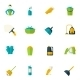Cleaning Icon Flat - GraphicRiver Item for Sale