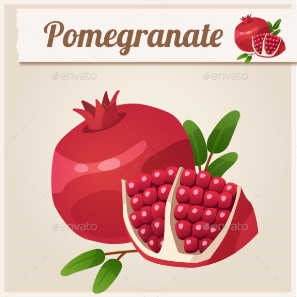 GraphicRiver Pomegranate 10311261