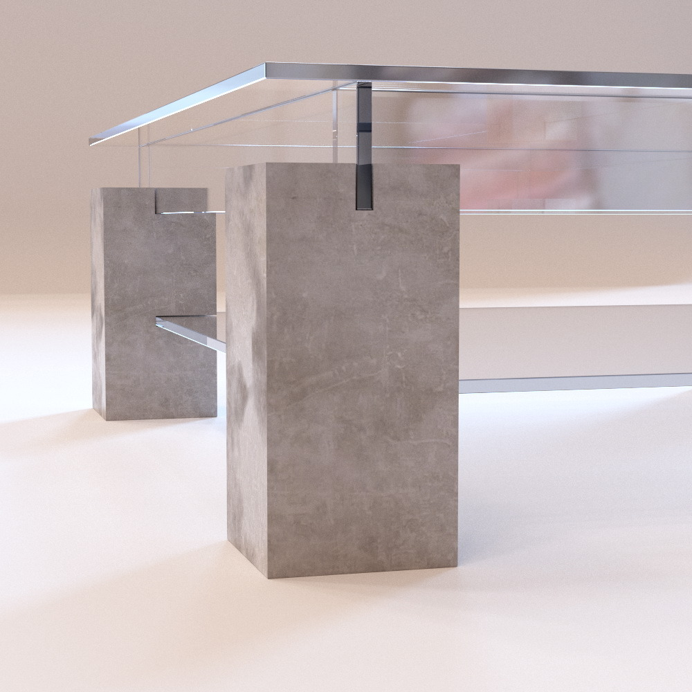 Table Basse Relevable Extensible Doccasion ~ Roche Bobois  Tenere Coffee Table By Beskor  3DOcean