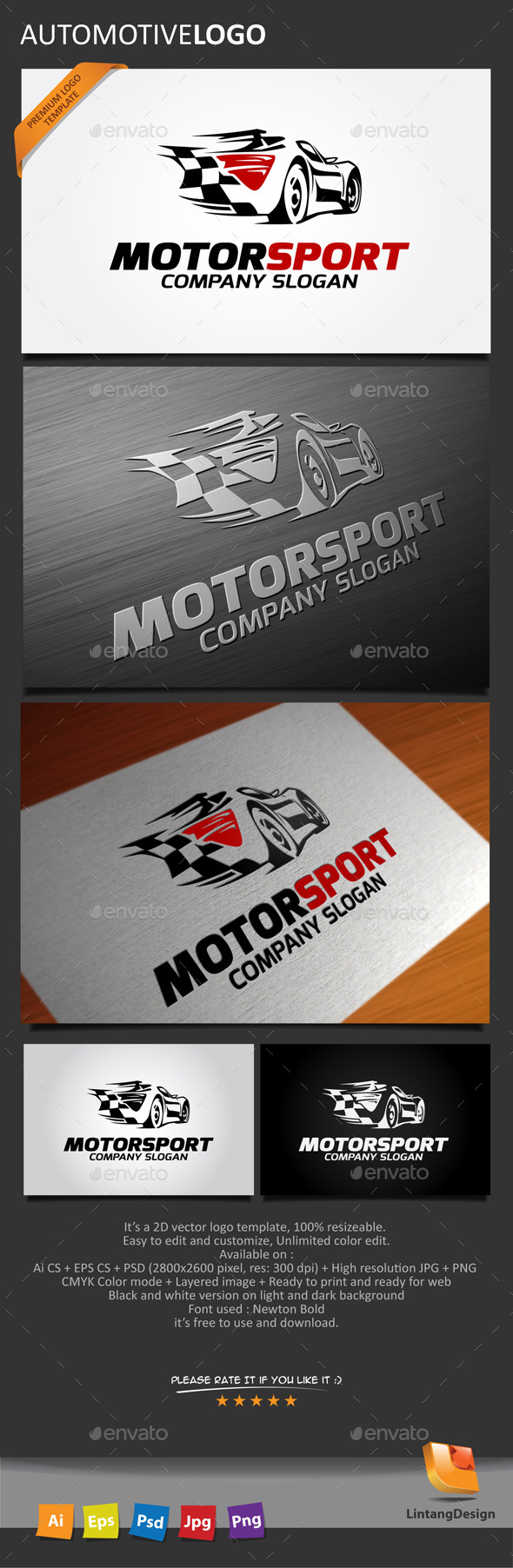 GraphicRiver Automotive Logo 10259986
