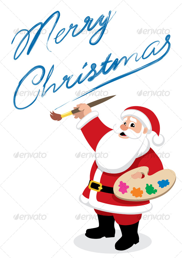 GraphicRiver Santa Painter 130066
