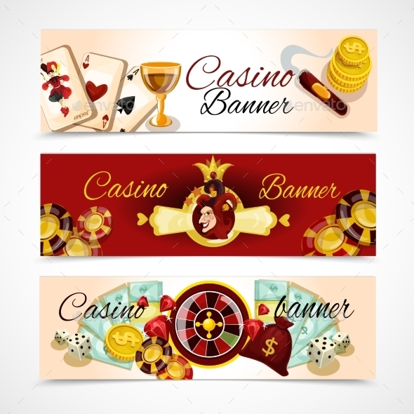 GraphicRiver Casino Banner Set 10311523