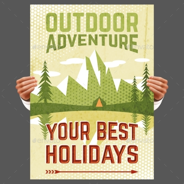 GraphicRiver Outdoor Adventure Tourism Poster 10311551