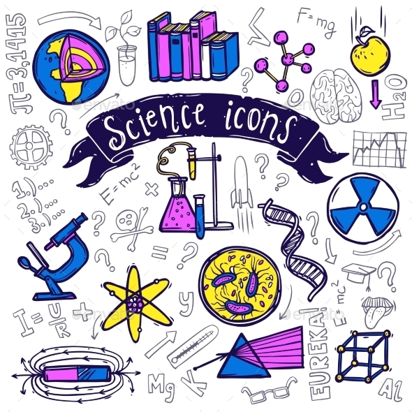 GraphicRiver Science Symbols 10311589