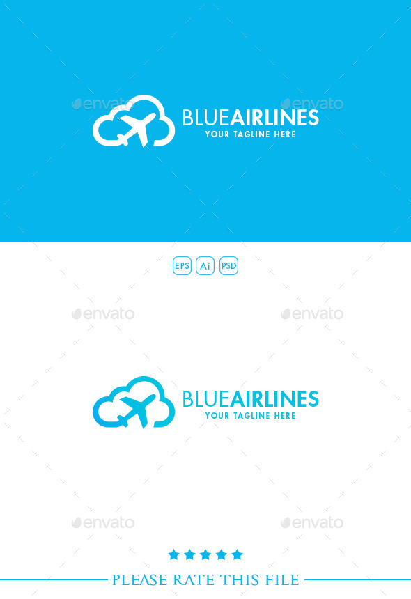 GraphicRiver Airlines Logo 10311912