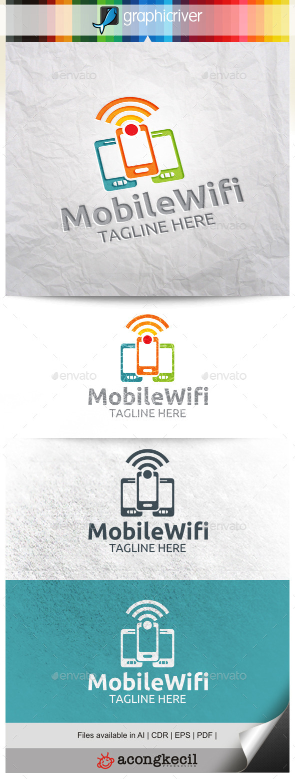 GraphicRiver Mobile Wifi 10312108