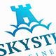 Sky Castle Logo - GraphicRiver Item for Sale