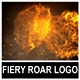 Fiery Roar Logo - VideoHive Item for Sale