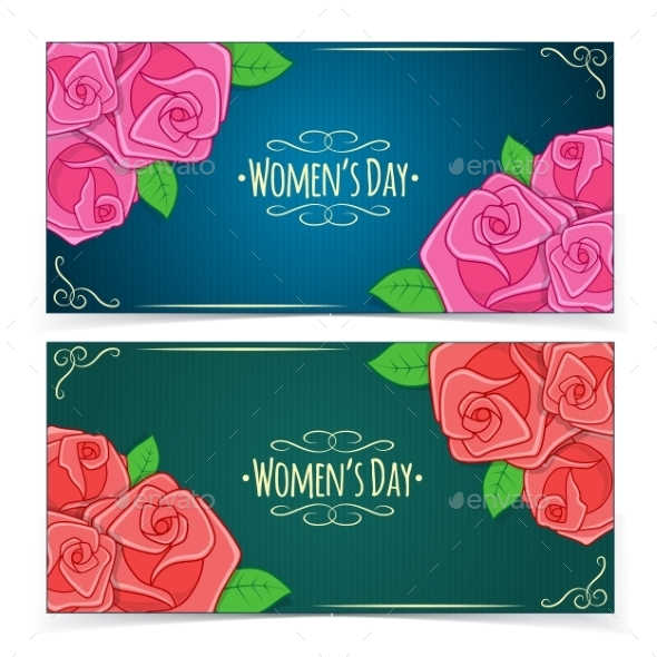 GraphicRiver Banners for Women s Day 10312570