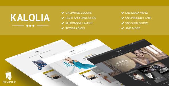 SNS Kalolia Premium Responsive Prestashop Theme