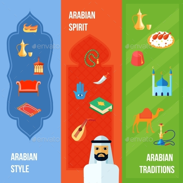 GraphicRiver Arabic Culture Banner 10313377