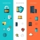 Data Protection Banners Vertical - GraphicRiver Item for Sale