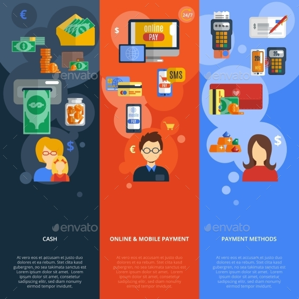 GraphicRiver Payment Banner Set 10313400