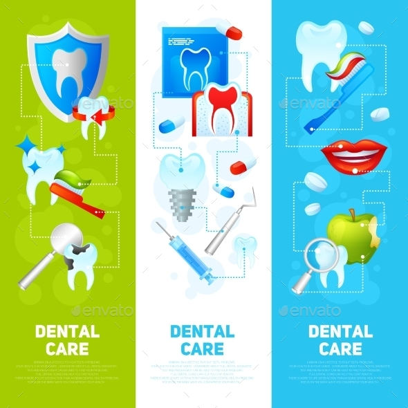 GraphicRiver Dental Banner Set 10313405
