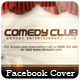 Comedy Club - Facebook Cover - GraphicRiver Item for Sale