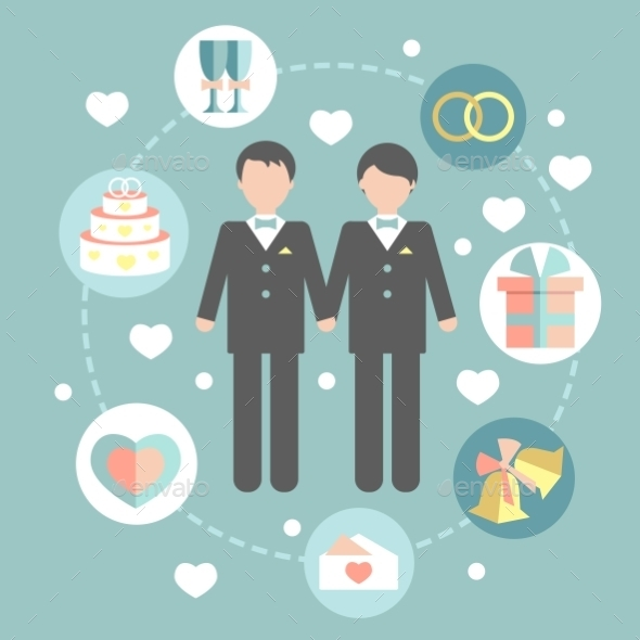 GraphicRiver Gay Marriage 10313752